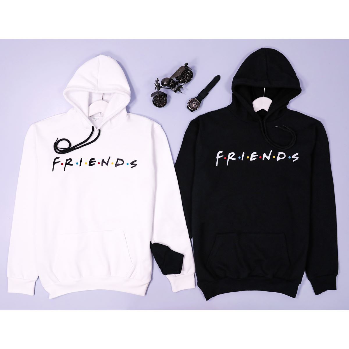 F-12-Friends Beyaz Unisex